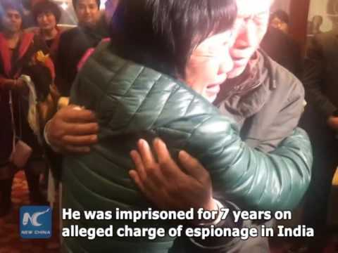 Chinese soldier fulfills decades-long dream to return home from India