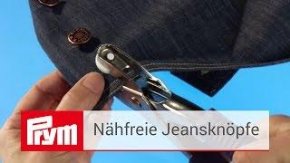 Video: Bottoni da jeans 14 mm (confezione da 8)