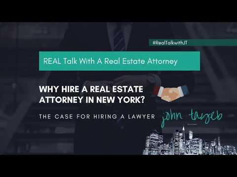 Hiring a Real Estate Attorney In New York