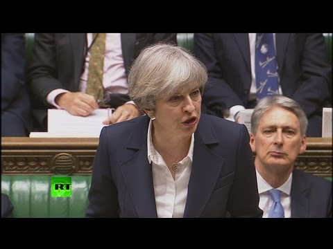 Theresa May triggers Article 50 #BrexitDay (FULL SPEECH)