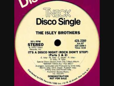 Isley Brothers  -   It's a Disco Night