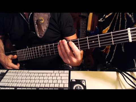 Slap Bass Lick 19: Hammer-On Triplets  in 'PP Funk' Bass Lick