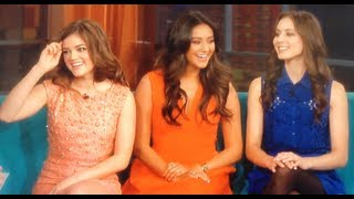 Lucy Hale Talks Aria and Ezra Relationship on Pretty Little Liars!