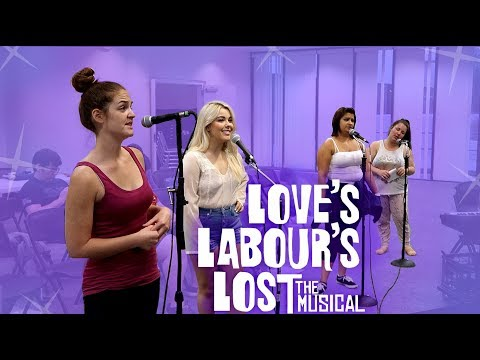 Rehearsing LOVE'S LABOUR'S LOST THE MUSICAL | Vlog