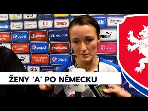 Rozhovory: Ženy 'A' - Německo 0:1