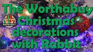 Worthabuy Christmas Decorations with rabbit - Have a Great Christmas