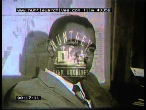 Albany Movement Leader Explains Their Goals, 1962 - Film 49358