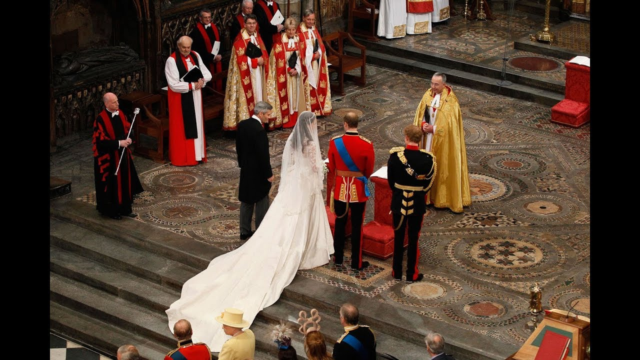 The Royal Wedding Ceremony At Westminster Abbey