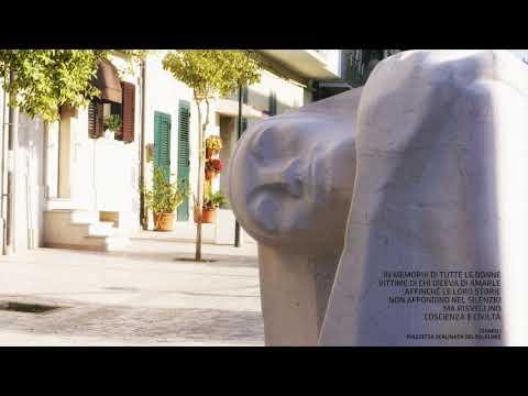 Termoli, un monumento contro la violenza sulle donne
