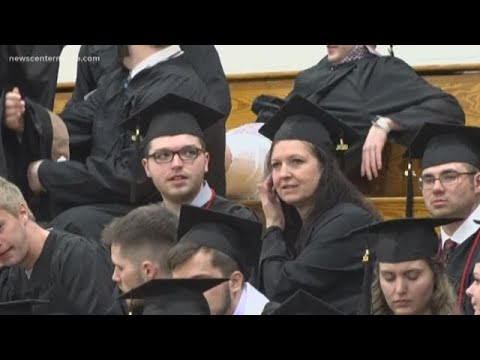 Mother, son earn bachelor s degrees on the same day from YouTube · Duration:  1 minutes 38 seconds