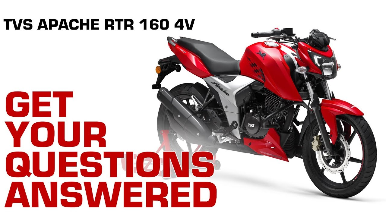TVS Apache RTR 160 4V : Get your questions answered!