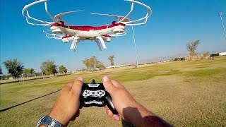 Huanqi 897B Beginners Trainer Drone Flight Test Review