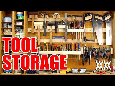 French Cleat Storage System For Hand Tools Youtube