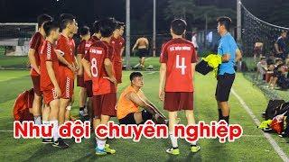 Một buổi tập bóng đá tại CLB Futsal Lê Bảo Minh sẽ như thế nào?