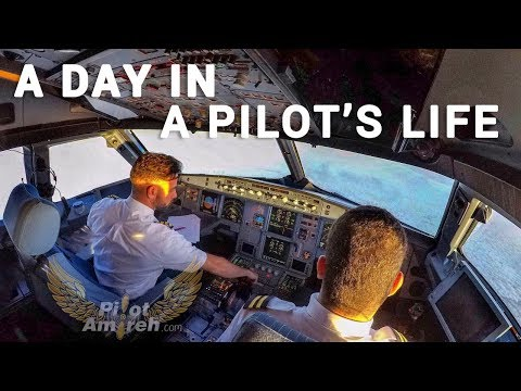 A Day In A Pilot's Life | PilotAmireh Episode 3