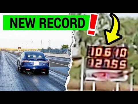 Tesla Model S Performance (P100D) refresh sets 1/4-mile record fresh from the factory