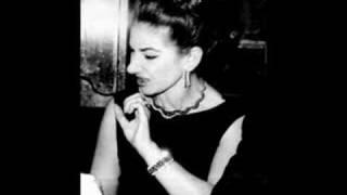 """FAKE - FALSO Maria Callas: """"AVE MARIA"""" Gounod"""