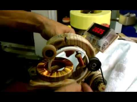 "TOROIDAL WINDING MACHINE MADE SIMPLE ""Final Cut! Very easy"""