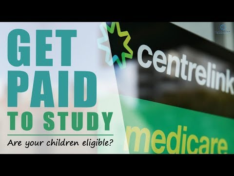 Get paid to study with Youth Allowance
