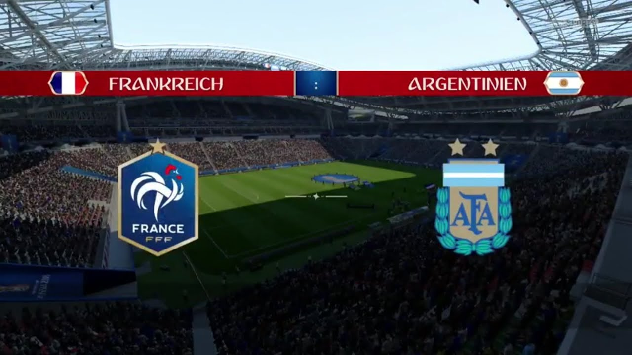 Wm 2021 Frankreich Argentinien