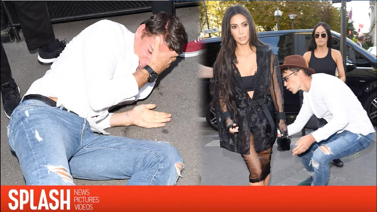 Kim Kardashian's Prankster Explains Why He Tried to Kiss Her Butt | Splash News TV