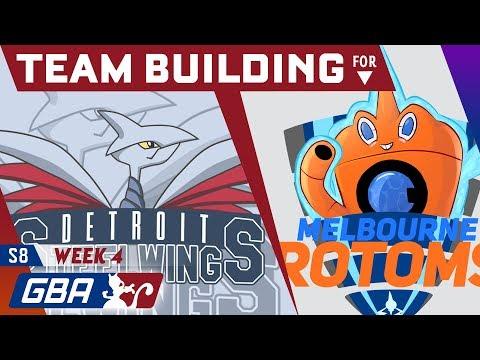 Detroit Steel Wings Teambuilder GBA S8 Week 4 VS Melbourne Rotoms! • Pokemon Ultra Sun and Moon