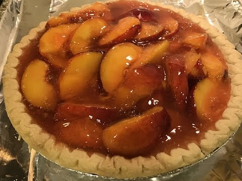 How to Make a Delicious Fresh Peach Pie!