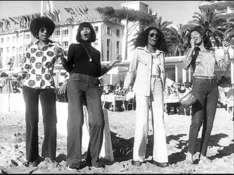 The Pointer Sisters with Betty Davis Singing Backup Vocals