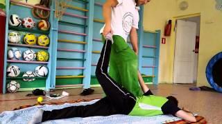 Техника приемов массажа дзен-тач шиацу