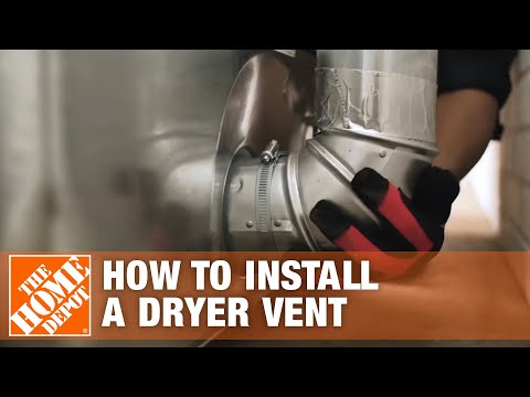 Venting a Dryer: How to Properly Install a Dryer Vent