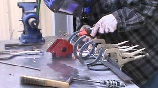 Horshoe Welding Project | Coat Rack