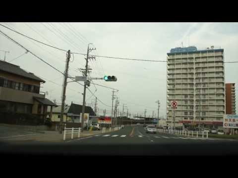 Driving in Shizuoka prefecture - Japan