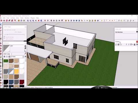 How To Design Your Dream Garage/House In SketchUp