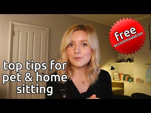 how to get free holiday accommodation by home & pet sitting