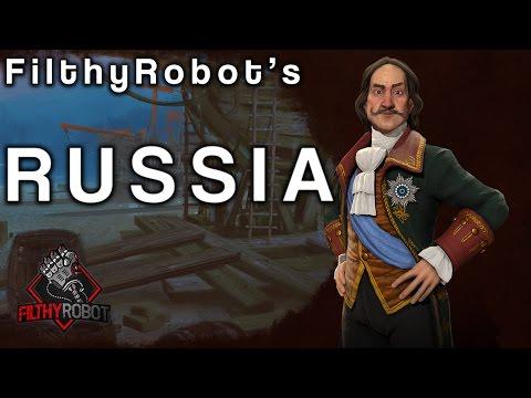 Civ 6 Game 24: Russia (6FFA) Part 1