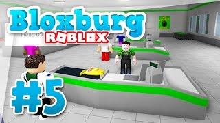 Bloxburg #5 - My New Job  Roblox Welcome To Bloxburg