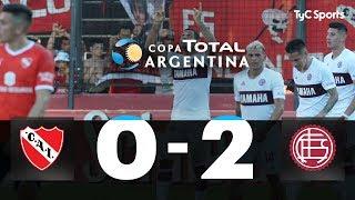 Independiente 0 - Lanús 2 | 4tos de Final | Copa Argentina 2019 (RESUMEN Y GOLES)