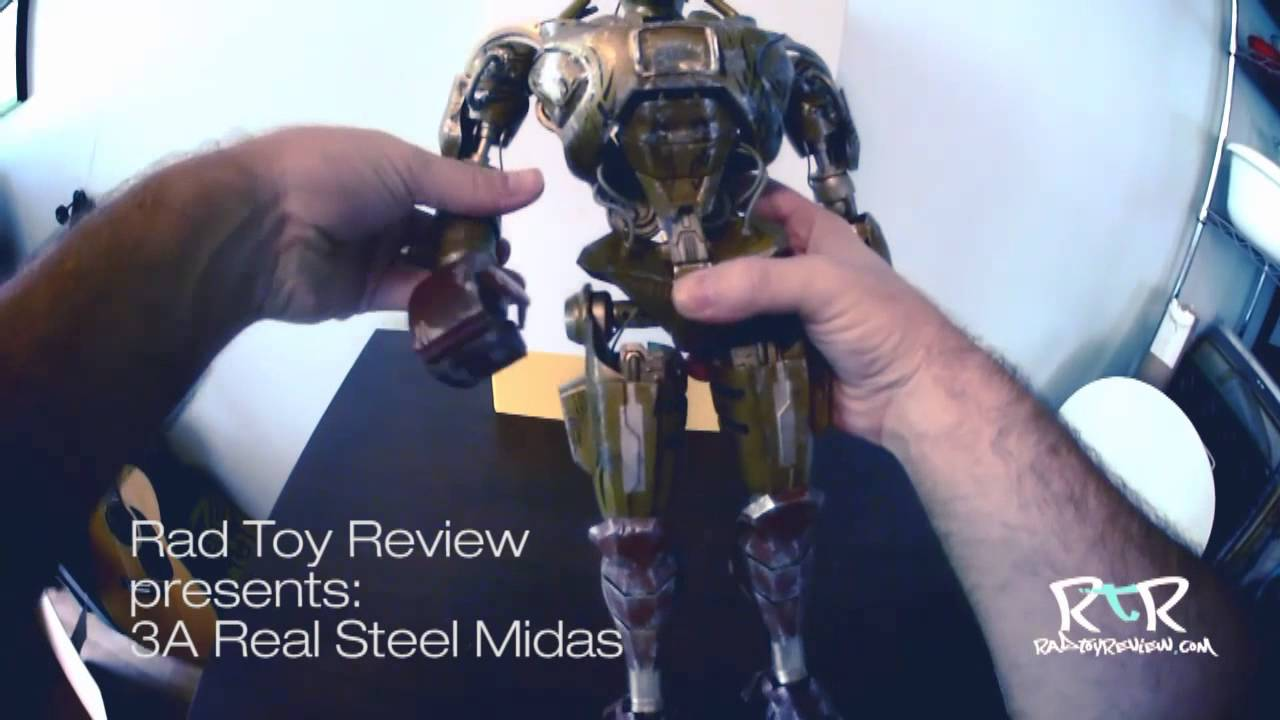 Papercraft 3A's Real Steel Midas