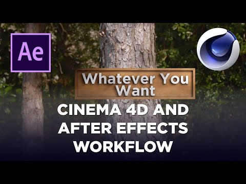 Cinema 4D in After Effects Workflow With Camera Tracking