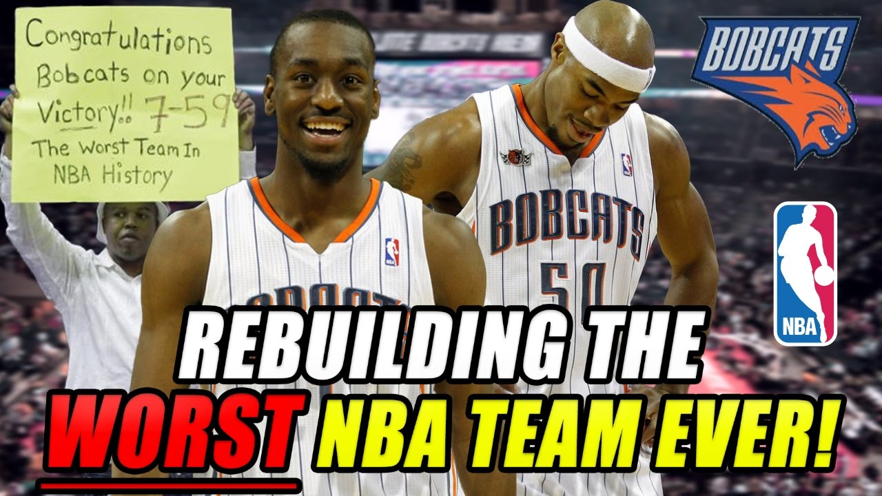 Rebuilding The Worst Team In Nba History 7 59 Record Charlotte