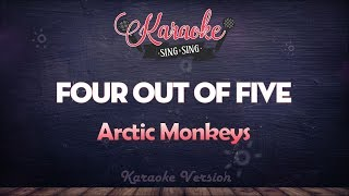 Arctic Monkeys - Four Out of Five (Karaoke Version)