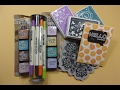 Jennifer McGuire Crafty Haul and Card, a Thank You Video!