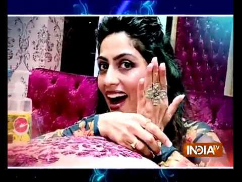 It's Nail Spa time for Zeenat aka Monika Khanna of Ishq Subhan Allah