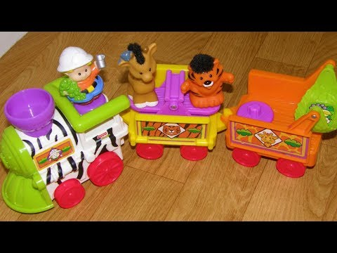 Fisher Price Little People Musical Zoo Train