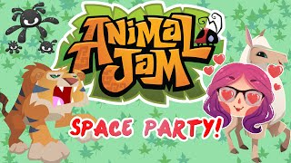 Animal Jam | Space Party! Arctic Fox! [9] | Mousie
