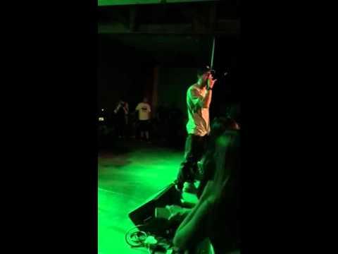 Chris Webby performing at Steel Stacks in Bethlehem, Pa Part 2