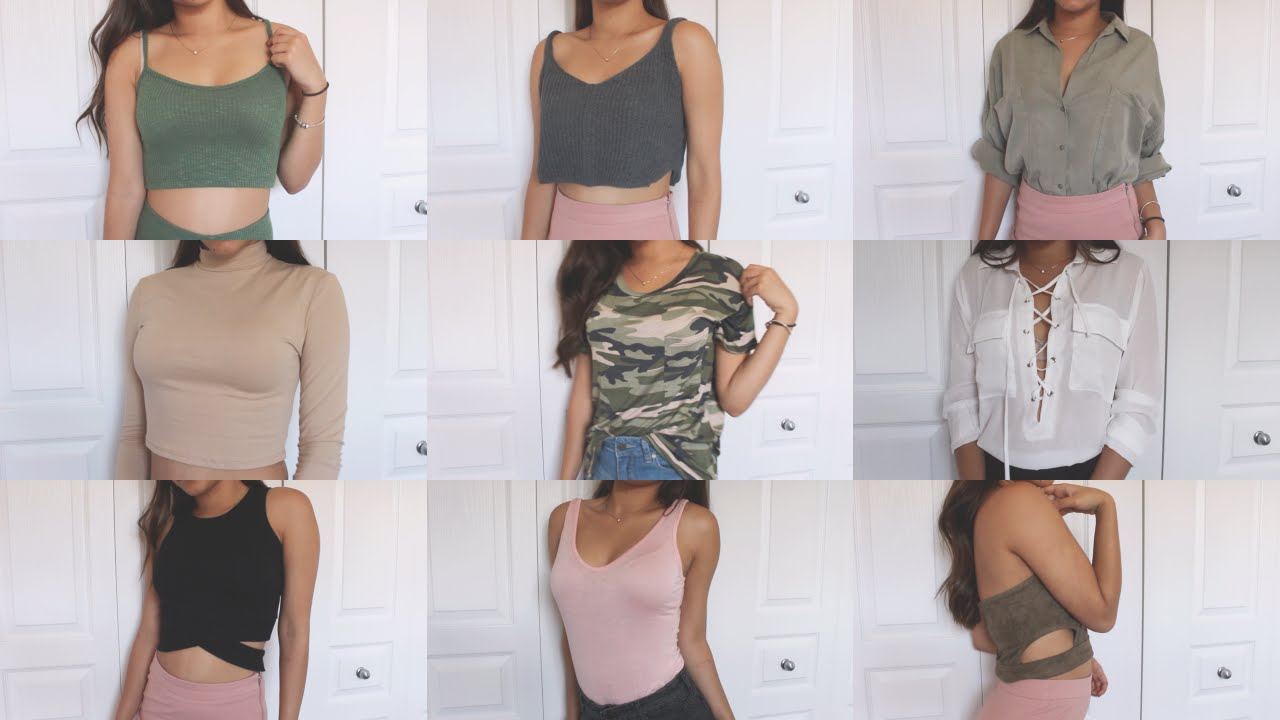 4851964622 TRY-ON SUMMER CLOTHING HAUL! PT2