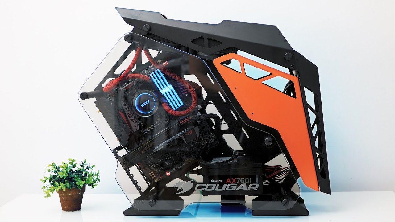 Is Cougar's Conquer the COOLEST Open-Style PC Case Yet?