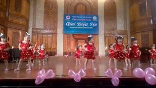 dạy múa - dance - nhảy hiện đại - vũ quốc tế cho bé  ĐT 046 326 5555
