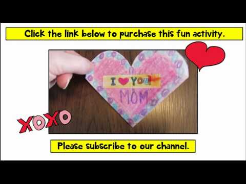 Valentines Day Cards Crafts For Kids DIY Gifts Pop Up Card Teachers Pay Teachers